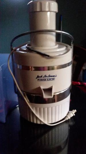 Jack LaLanne Power Juicer for Sale in Savannah, GA