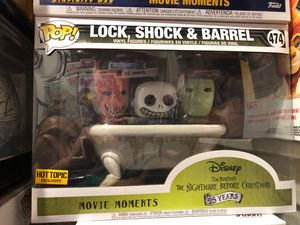 Lock, Shock & Barrel, Funko, Movie Moment, Hot Topic Exclusive for Sale in Anaheim, CA