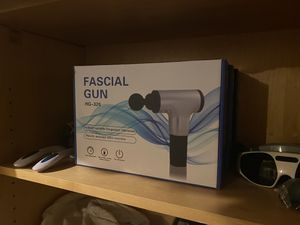 Chargeable Massage Gun with 6 speeds and 4 heads for Sale in Glendale, AZ