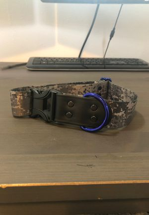 Digital camo dog collar - brand new for Sale in Frederick, MD