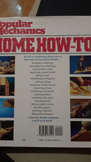 Popular mechanics home how-to book. for Sale in Chicago, IL
