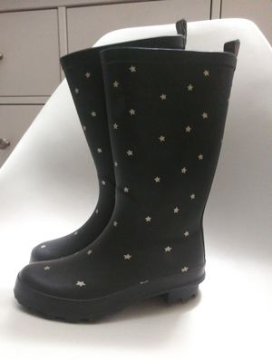 New Girls 2 rain boots Cat and Jack stars for Sale in Tacoma, WA