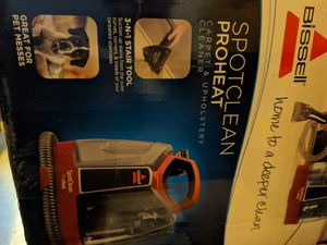 Bissell SPOTCLEN PROHEAT Carpet and Upholstery Cleaner for Sale in Dublin, CA