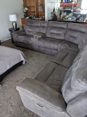 Sectional couch for Sale in Broken Arrow, OK