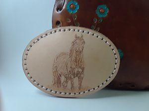 Leather Buckle/Hebilla de Piel for Sale in Alhambra, CA