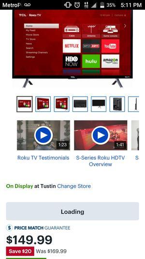 TV TLC 32 inch for Sale in Phoenix, AZ