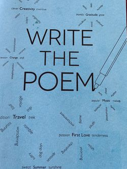 Write The Poem Journal / Book for Sale in Leona Valley,  CA