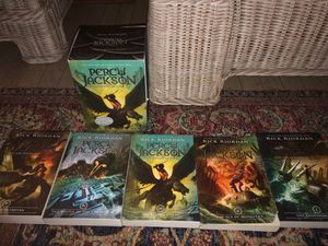Percy Jackson complete book series for Sale in Sicklerville, NJ