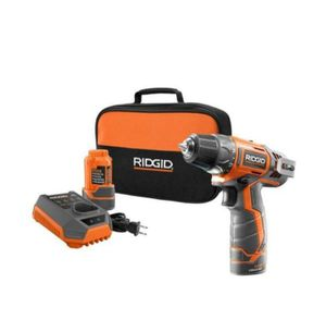 RIDGID 12-Volt Lithium-Ion 3/8 in. Cordless 2-Speed Drill Kit for Sale in Miami, FL