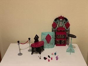 Monster High Dolls Frights Camera Action with Accessories! for Sale, used for sale  Castle Rock, CO