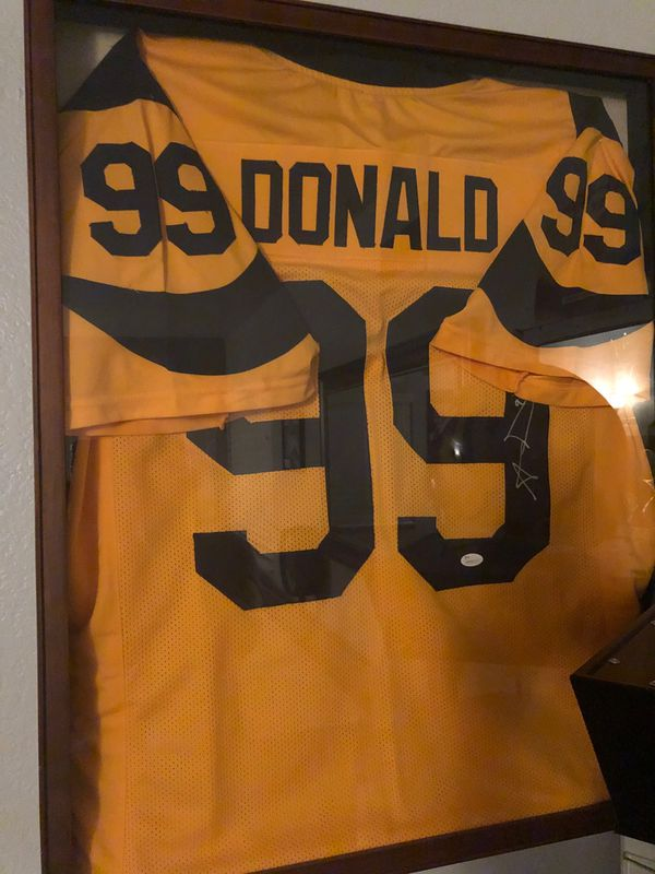 Signed Aaron Donald jersey