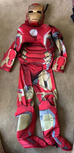 Iron man costume med 8-10 for Sale in Naperville, IL