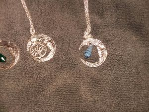 Crescent moon necklace for Sale in Wellington, KS