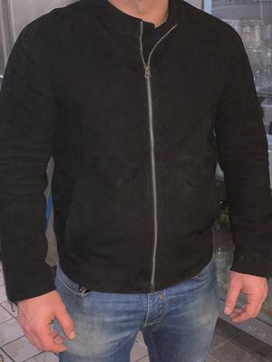 James bond spectre 100% genuine black lamb leather jacket for Sale in Miami, FL