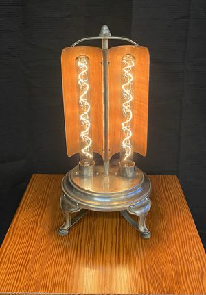 Antique 1920s GE A23 heater upcycled to gorgeous table lamp for Sale in Tacoma, WA