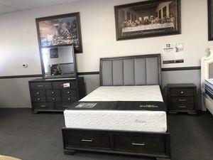 4PC Queen Bedroom Set on SALE 🔥 for Sale in Fresno, CA