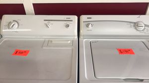 washer and gas dryer Kenmore super capacity plus all working $300 can deliver If you're not too far for Sale in Cleveland, OH