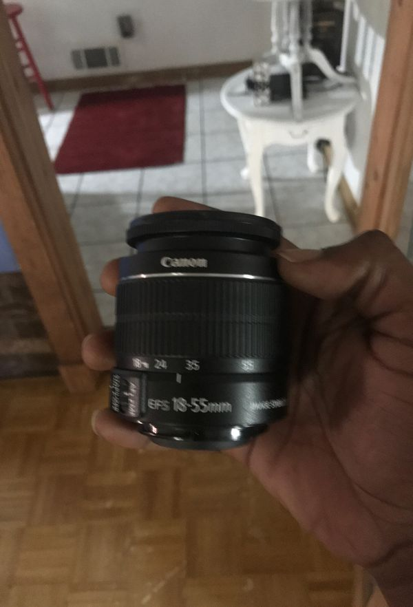 Canon EFS 18-55mm image stabilizer MACRO 0.25m/0.8ft Brand new Box not included