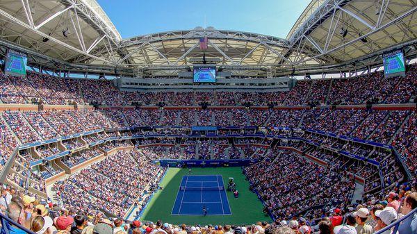 US OPEN women's singles semi-final, women's doubles Sept 7th