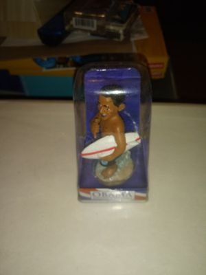 "KC HAWAII BARACK OBAMA HOLDING A SURFBOARD DASHBOARD DOLL4"" for Sale in Philadelphia, PA"