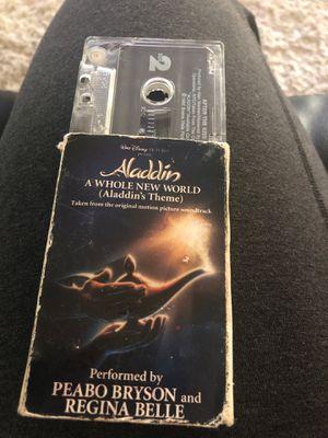 Aladdin cassette for Sale in Sloughhouse, CA