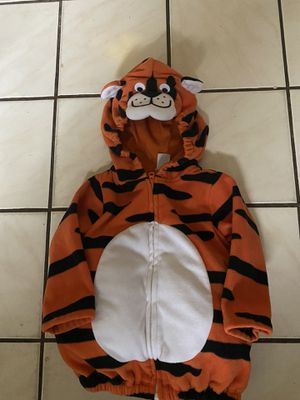 Baby tiger costume 12 months by: Carter's for Sale in Essex, MD