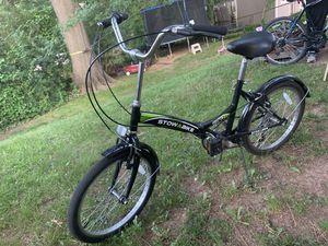 Stow-a-Bike Foldable Cruise Bike for Sale in Berwyn Heights, MD