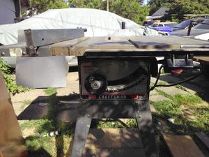 Craftsman tradesman table saw for Sale in Portland, OR