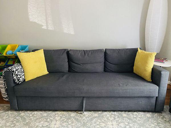 Sleeper Sofa & ottoman