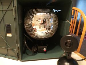 Portable disco ball 1970s $90 OBO for Sale in Tacoma, WA