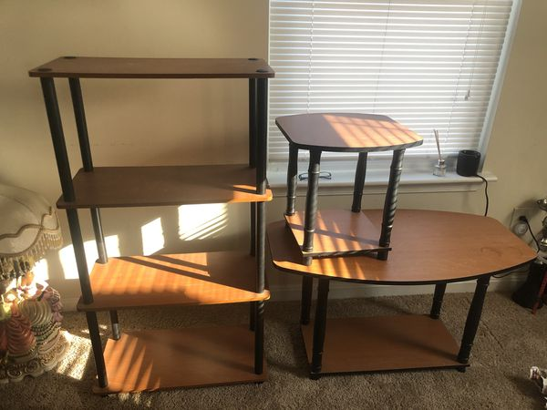 Shelf, Coffee Table, Small Couch Side Table