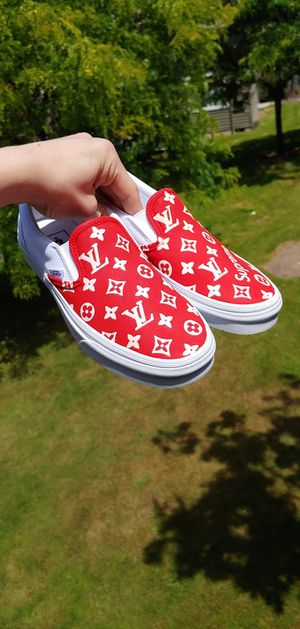 LV x Supreme Vans (Slip-on) for Sale in Aloha, OR