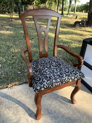 Mahogany Wood Chair for Sale in Fort Worth, TX