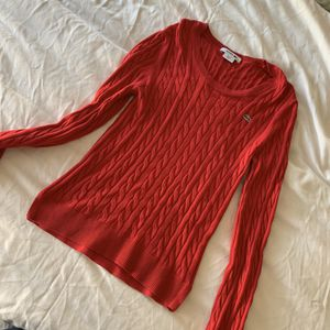 Women's Lacoste cable knit sweater for Sale in Sterling, VA