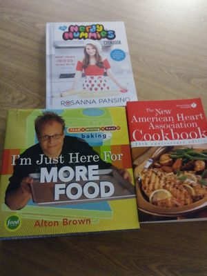 3 great cookbooks. Like new for Sale in Fort Myers, FL