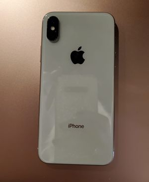 iPhone X white 256gb for Sale in Kent, WA
