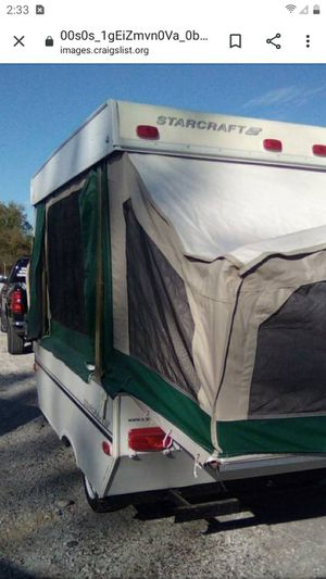 2006 Starcraft pop up like brand new excellent little camper for Sale in Oak Lawn, IL