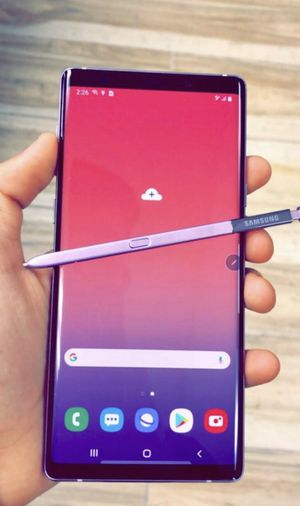 Samsung galaxy note 9 512gb unlocked, store warranty for Sale in Boston, MA