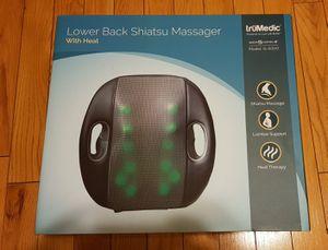 InstaShiatsu Seat Back Massager With Heat, Model#IS-5000 for Sale in Renton, WA