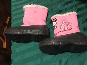 Small Girls Winter Boots Hello Kitty Size 11/12 for Sale in Chula Vista, CA