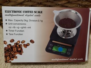 Electronic Coffe Scale for Sale in Fairfax, VA