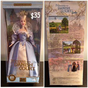 Barbie Dolls of the World - NIB - Princess of the Danish Court for Sale in Tewksbury, MA
