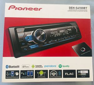 Pioneer CDRDS Receiver DEH-S4100BT for Sale in Moreno Valley, CA