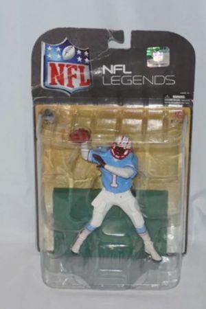NFL Legends Warren Moon #1 Houston Oilers Mcfarlane Toys 2008 Figure for Sale in Seattle, WA