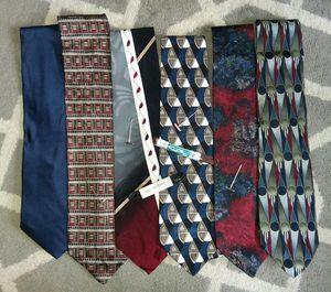 6 Vintage Designer Silk Ties - Bellissimo! for Sale in Riverview, MI