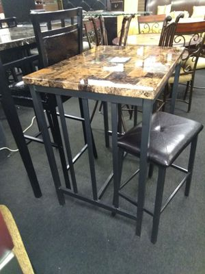 Pub table w/ 2 stools for Sale in Brooklyn, MD