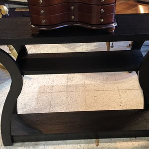 Modern Black Sofa Table for Sale in Frederick, MD