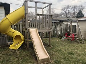 Swing set backyard park for Sale in Chicago, IL