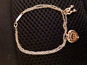 18kt Rose Gold Tiffany and co. Double chain Bracelet for Sale in Renton, WA
