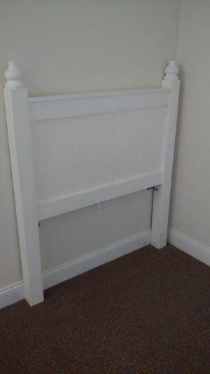Twin white head board- free for Sale in Salisbury, MA